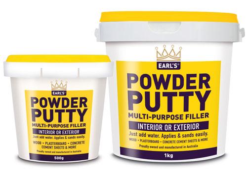 Earl's Powder Putty